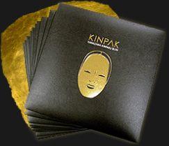 純金24金フェイシャルマスク【KINPAK】